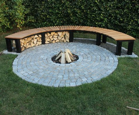 feuerstelle ideen backyard pit ideas landscaping studio design