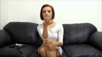 casting couch for backroom casting couch cute redhead youtube