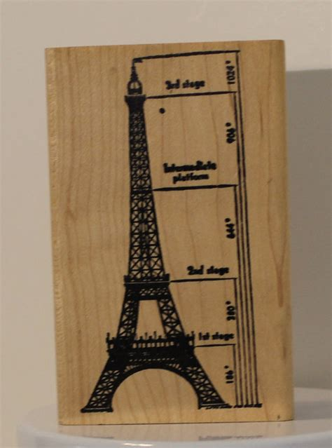 eiffel tower rubber st scale drawing of the eiffel tower rubber st