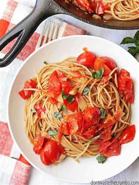 easy pasta sauce homemade spaghetti sauce 15 minute recipe