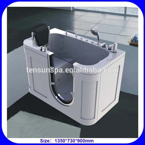 Portable Walk In Bathtub by Portable Elderly Disabled Walk In Bathtub Buy Portable