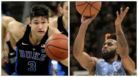 duke  unc basketball  places    game