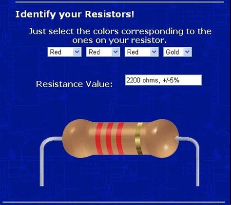 2k resistor color code 2 2k ohm resistor color code pictures to pin on pinsdaddy