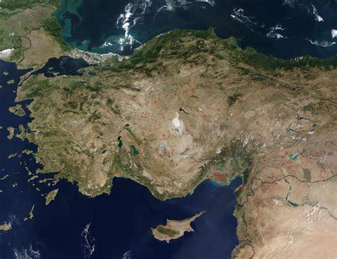 Kem Vone Bordir nasa visible earth turkey