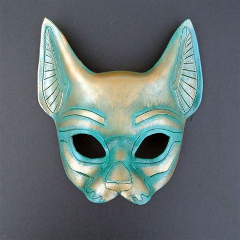 Cat Mask leather cat mask by merimask masks