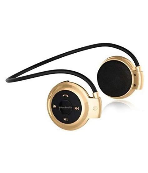 Headphone Wireless Bluetooth Mic Mini 503 buy acid eye mini 503 wireless bluetooth headset the ear with mic golden and black