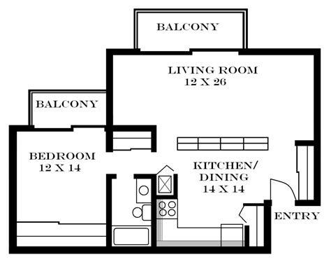 1 bedroom apartment floor plan lawrence apartments meadowbrook 2601 dover square