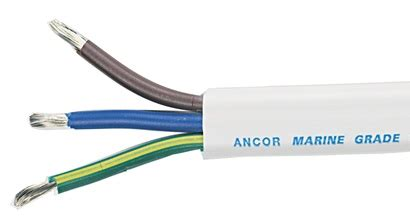 ac power cord color code european color code ac cable 10 3 awg 3 x 5mm 178 flat