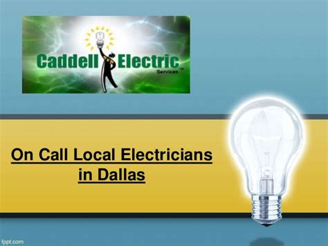 local electricians on call local electricians in dallas