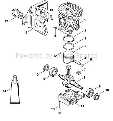 stihl ms290 chainsaw parts diagram stihl 290 parts diagram periodic diagrams science