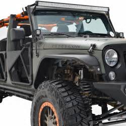 Led Light Bar For Jeep Jk 07 16 Jeep Wrangler Jk 50 Quot Led Light Bar Mount Kit