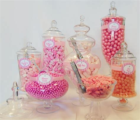 Large Vases Wholesale Candy Buffet Package Filled Candy Display Candy Buffet