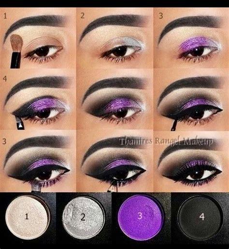 dramatic purple eyeshadow purple smokey eye yvette gomez purple base got a dramatic