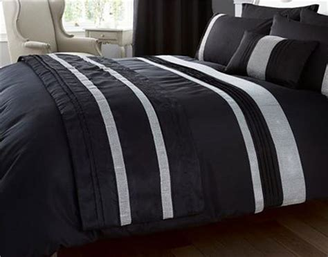 new luxury diamante bedding duvet cover bed sets lined