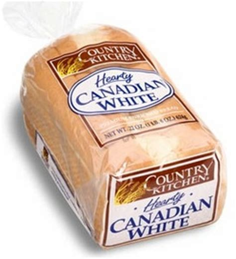 country kitchen bread country kitchen hearty canadian white bread 22 oz