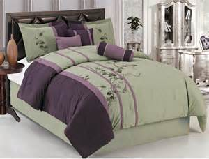 Croscill Bathroom Sets Purple And Green Bedding Set With Floral Pattern Plus