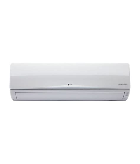 Ac 1 2 Pk Lg Inverter lg inverter ac split air conditioner white price in india