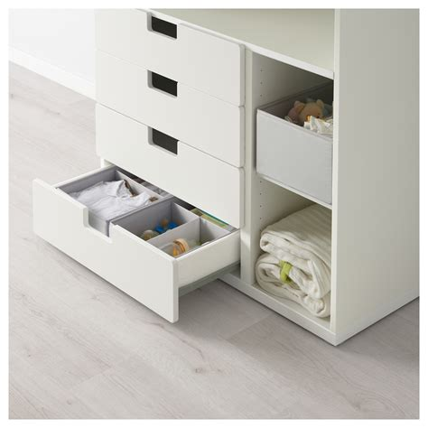 ikea changing table top stuva changing table with 4 drawers white 90x79x102 cm ikea