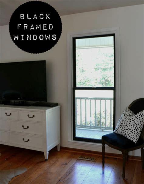 dark screens for house windows diy black window frames