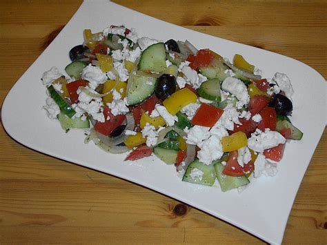 Säule Griechisch by Bauernsalat Griechisch Rezept Mit Bild Romanasylvia