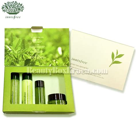Harga Innisfree Green Tea Special Kit box korea mini innisfree green tea special kit