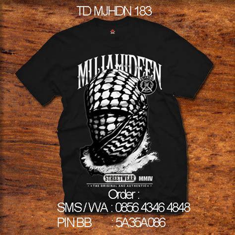 kaos mujahidin mujahidin distro
