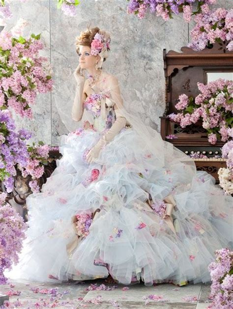 flower design wedding dresses princess look stella de libero flower wedding dresses