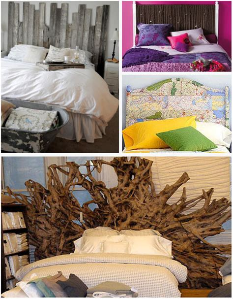 recycled bedroom ideas one of a kind trash to treasure bedroom headboard ideas