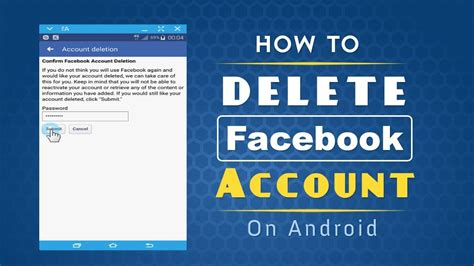Collection of how to delete your facebook account on android 2018 how to delete facebook account on android phone youtube ccuart Images