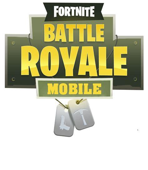 fortnite mobile logo png image purepng