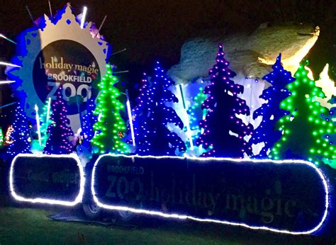 holiday magic festival of lights brookfield zoo christmas lights christmas decore