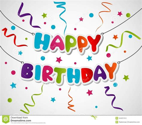 happy birthday art design greeting cards design clipart clipground