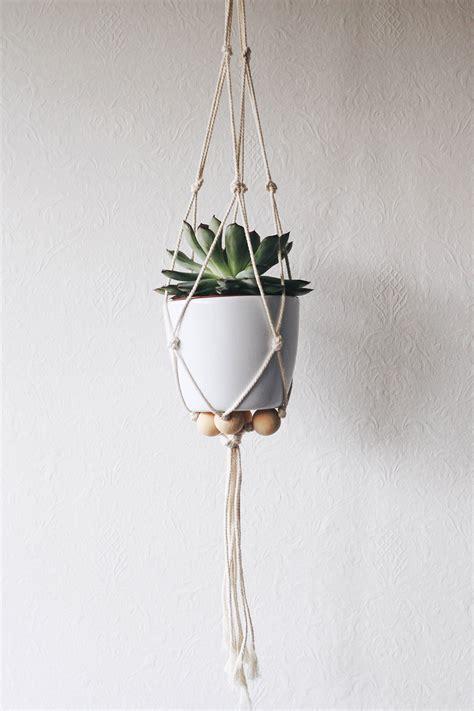 macrame plante diy suspension macram 233 pour plante