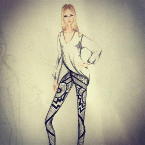 by fayci tage nostrinks fashion desenho de moda
