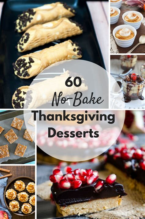 60 no bake thanksgiving desserts by the redhead baker