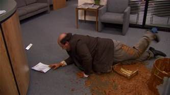 why kevin dropping his chili is the saddest moment on quot the