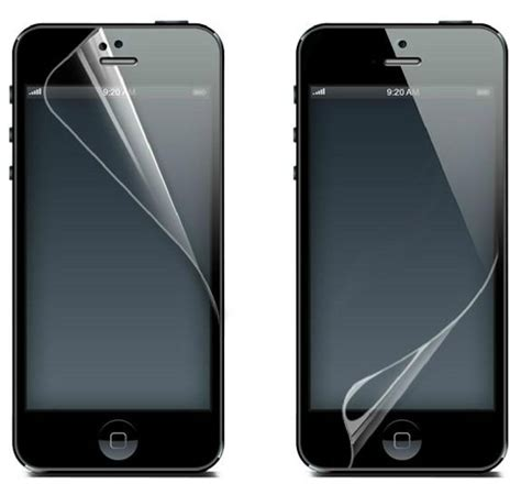 Screen Guard Character Iphone 55s clear screen protector guard ward for apple iphone 5