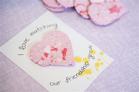 How To Make Seeded Paper - 50 puntastic valentines ideas for jamonkey