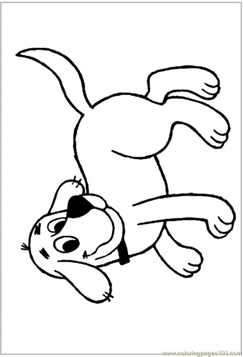 clifford the big red dog coloring pages coloring home