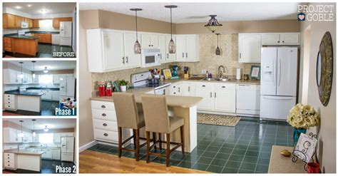 suburbs mama kitchen update one year later white kitchen transformation white cabinets painted counters