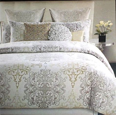 New Comforter Tahari Medallion Scroll Comforter Set