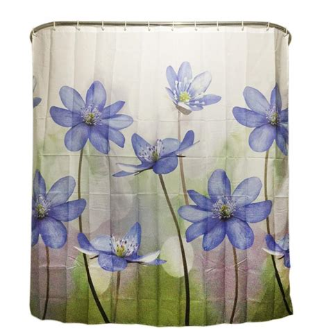 purple flower shower curtain popular purple shower curtains buy cheap purple shower