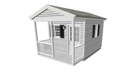 10x12 Shed Plans With Loft by Tool Shed Plans With Porch 10 X 12
