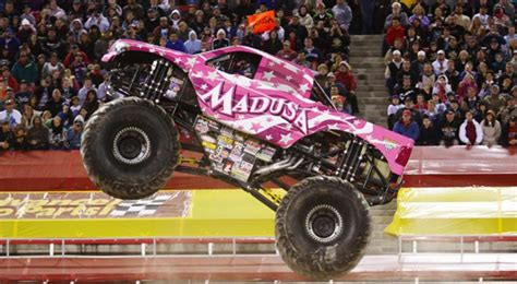 seattle monster truck show see female monster truck driver madusa crush gender