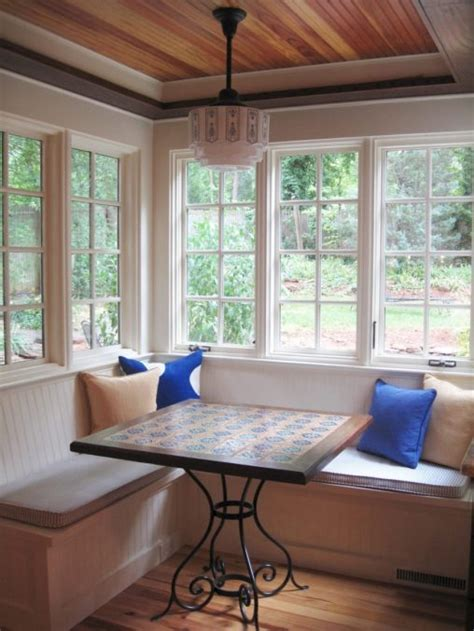 kitchen bay fenster furniture small sunroom decorating ideas bay window