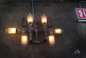 plumbing pipe light fixture let s stay cool pipe lighting design