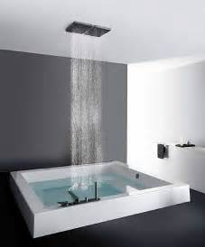 Square Bath Shower built in square bath tub grande quadra step kos