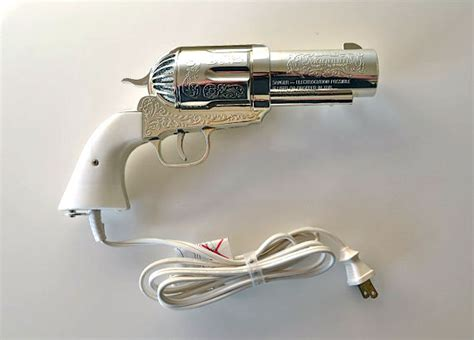 Pistol Shaped Hair Dryer the magnum gun hair dryer