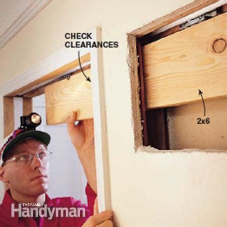 pocket door repair the family handyman