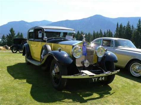 yellow rolls royce movie 1931 rolls royce phantom ii sedanca deville barker